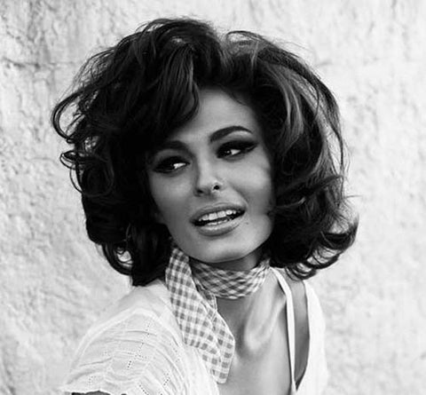 Sophia Loren wearing a neckerchief