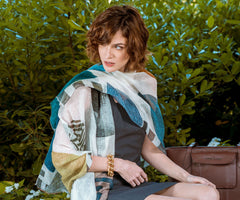 womens Italian shawl