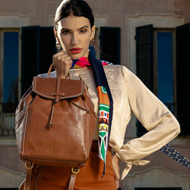 Genuine Italian leather handbags