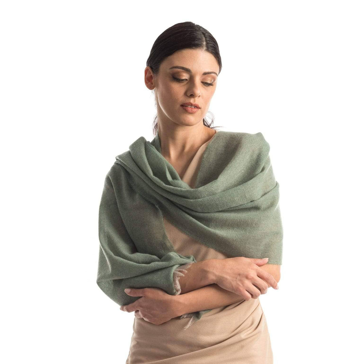 luxury Italian cashmere wrap