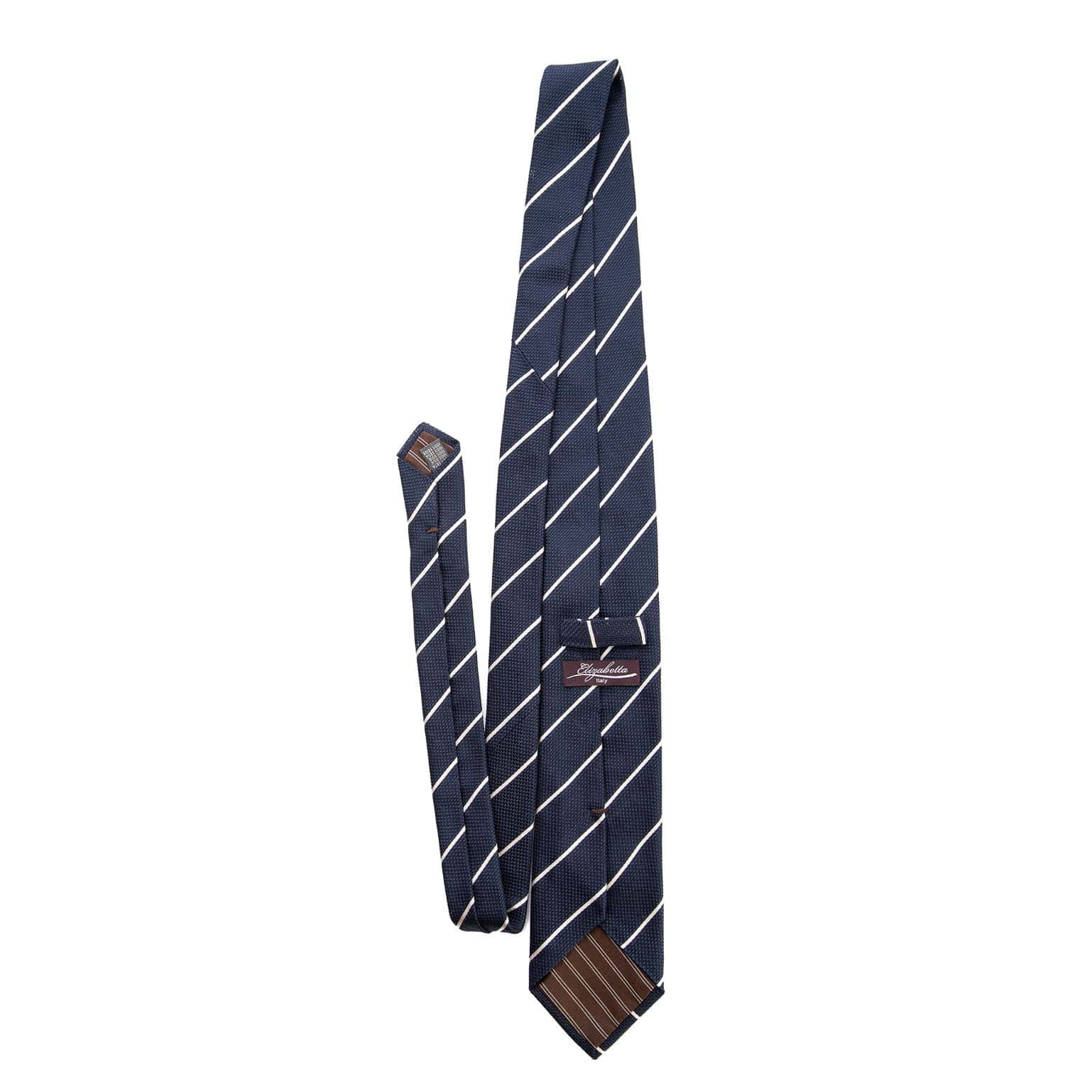 luxury silk grenadine Italian neck tie