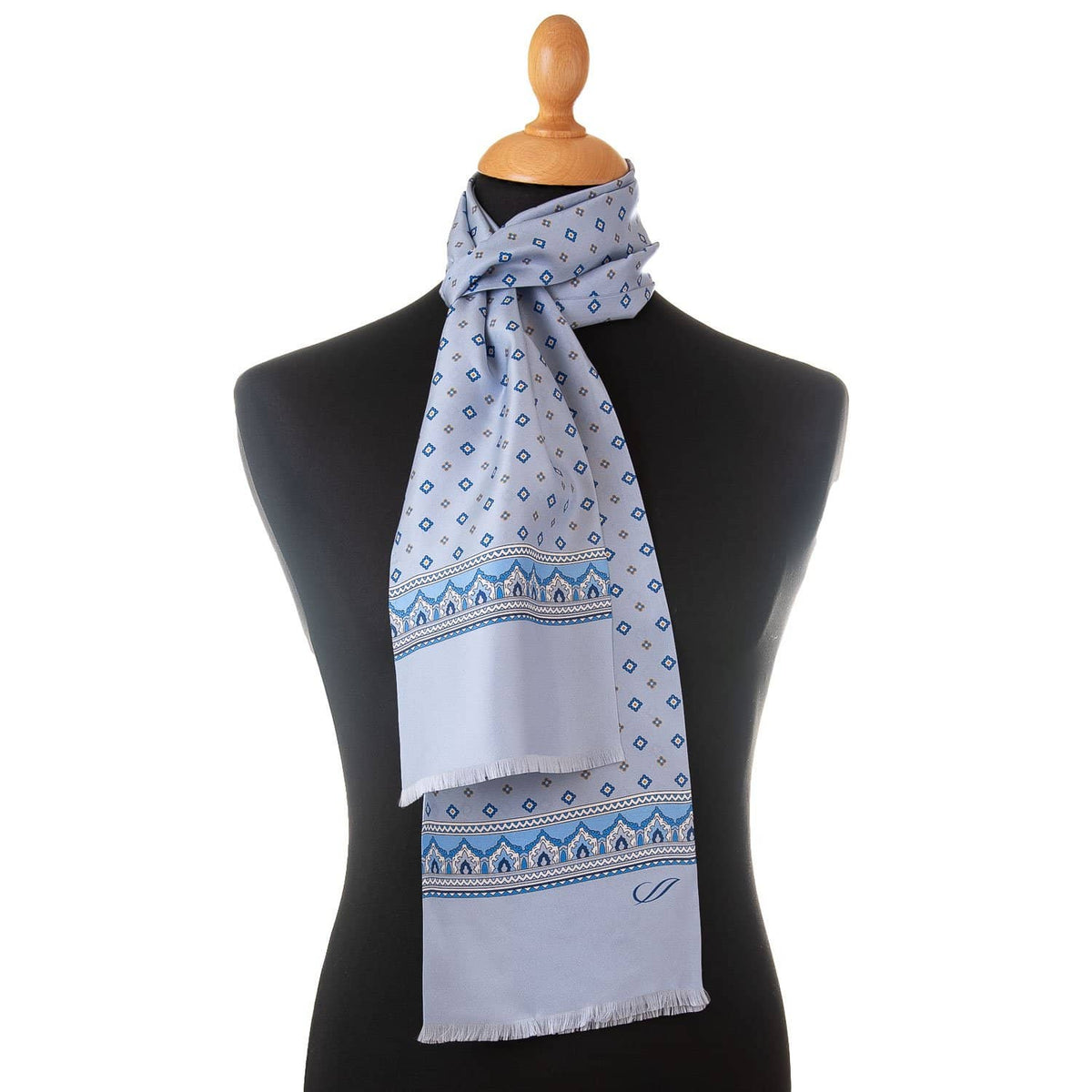 Luxury Italian silk scarf