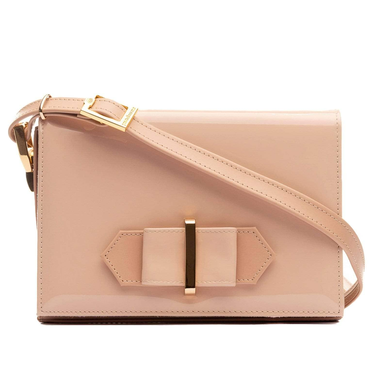 Blush Pink Evening Bag - Made in Italy - Patent Leather