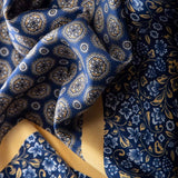 mens neckerchief blue