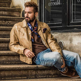 luxury mens neckerchief scarf