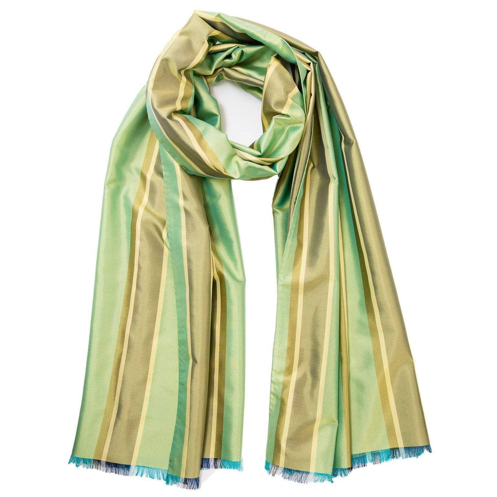 green formal shawl wrap