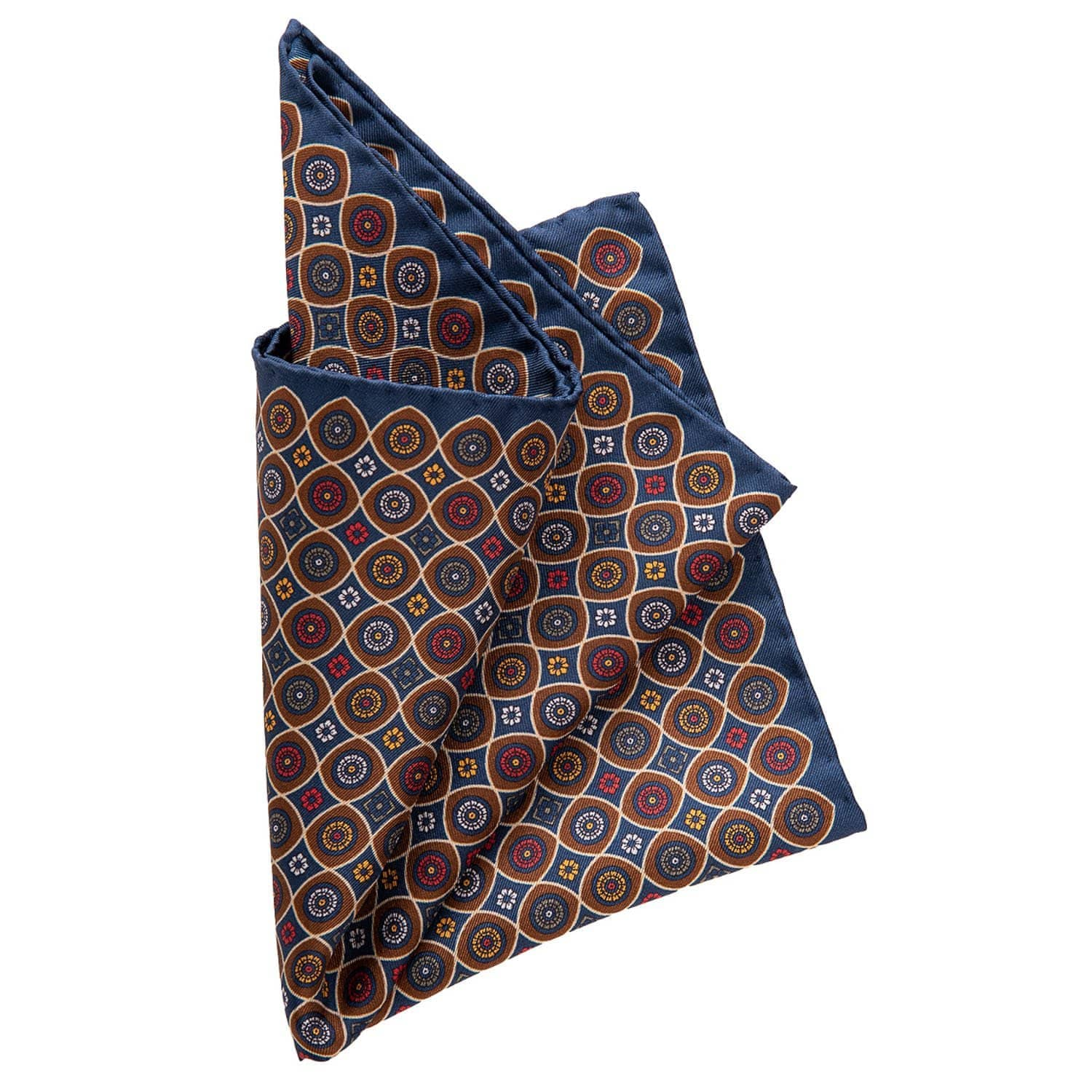 Italian Silk Pocket Square - 100% Made in Como Italy