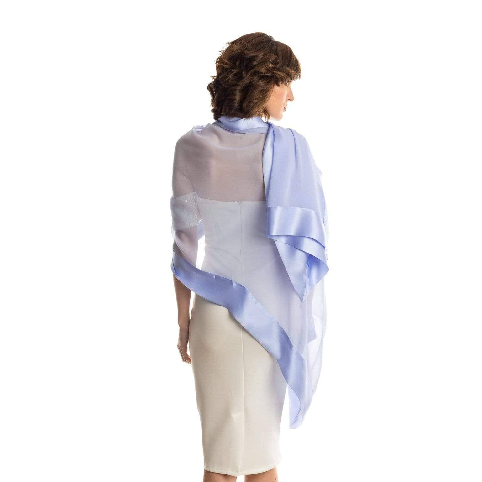 chiffon evening wrap