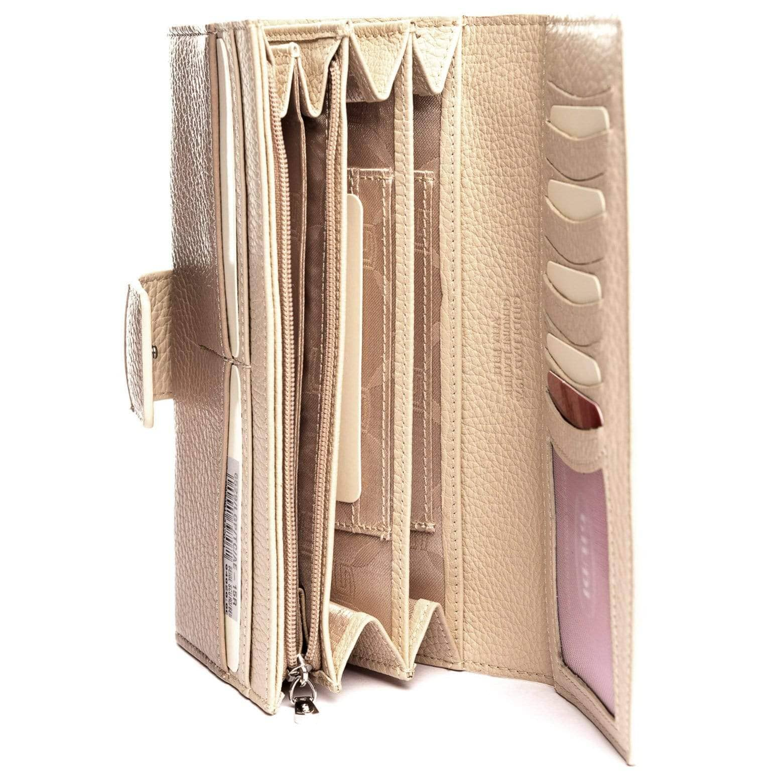 luxury Italian leather wallet