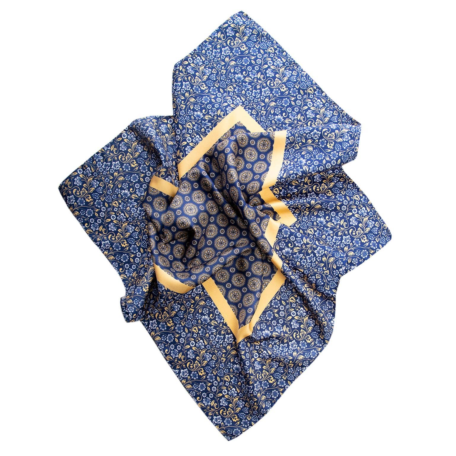 mens western silk neck scarf