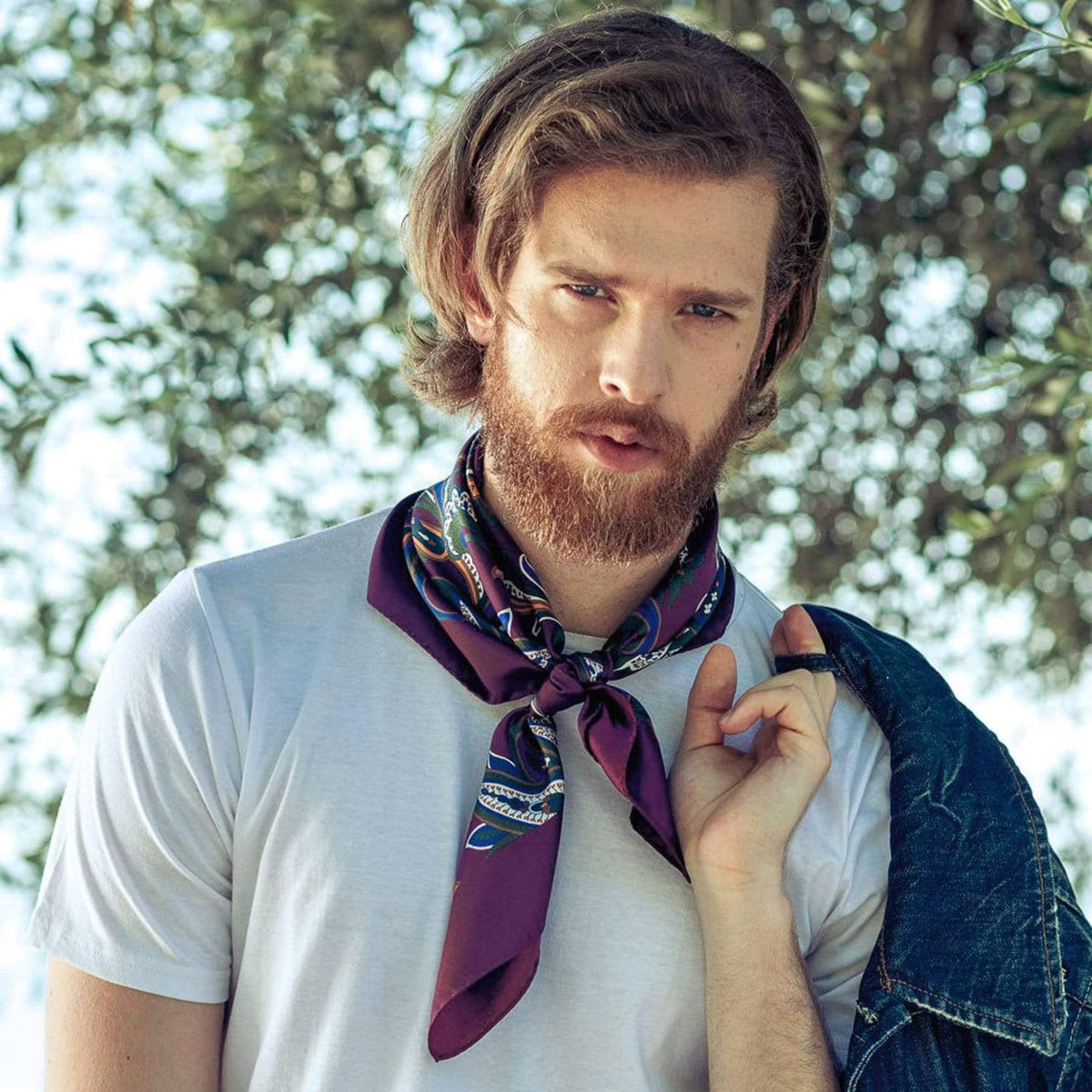 mens neckerchief scarf