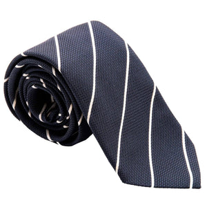 luxury mens grenadine necktie made in Italy
