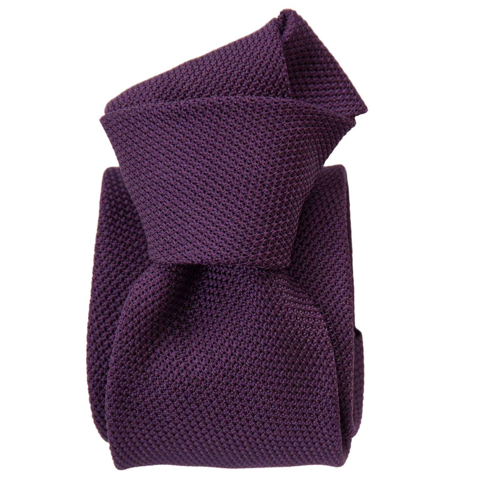 Purple Grenadine Tie - Garza Fina - Made in Italy