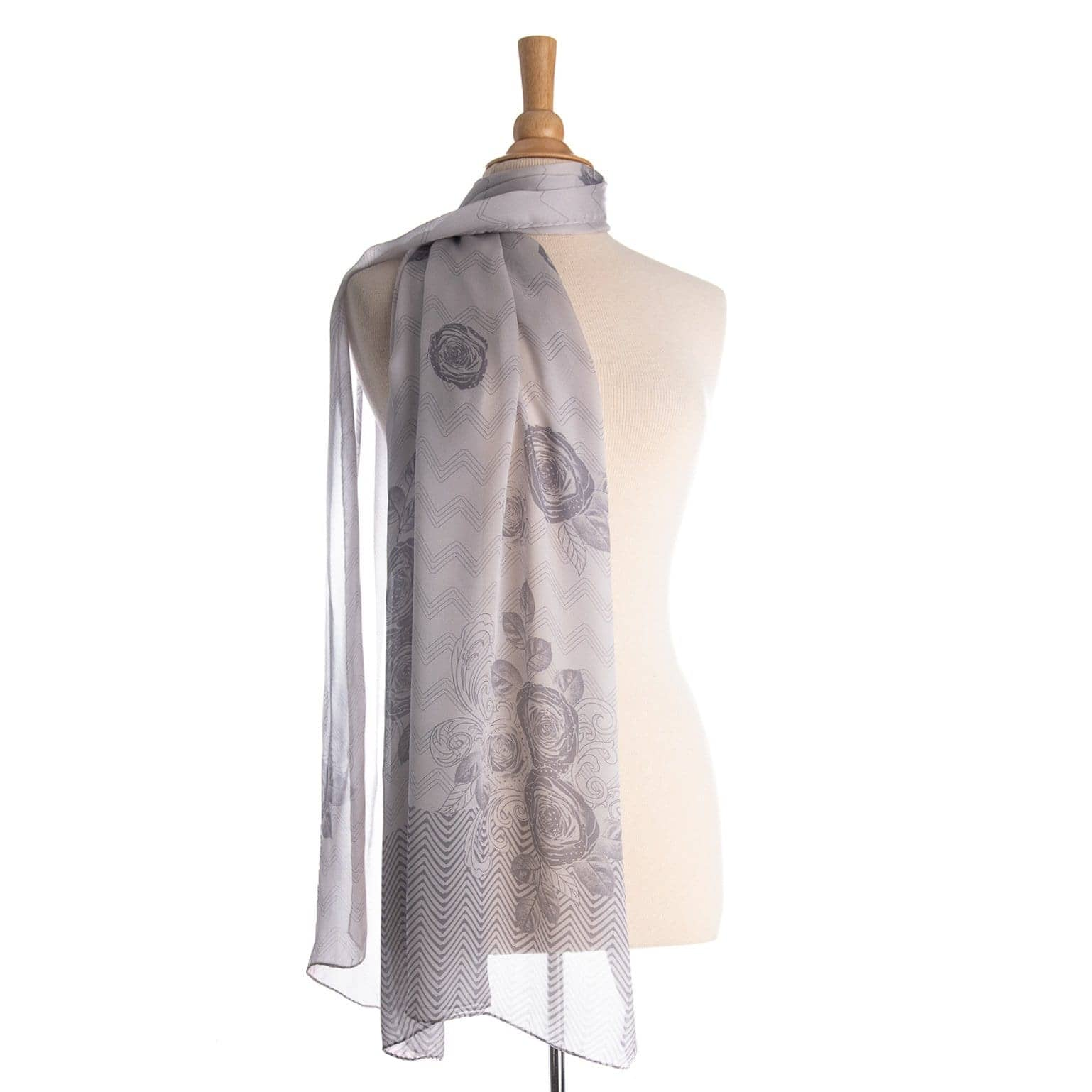 silver grey silk wrap for dress