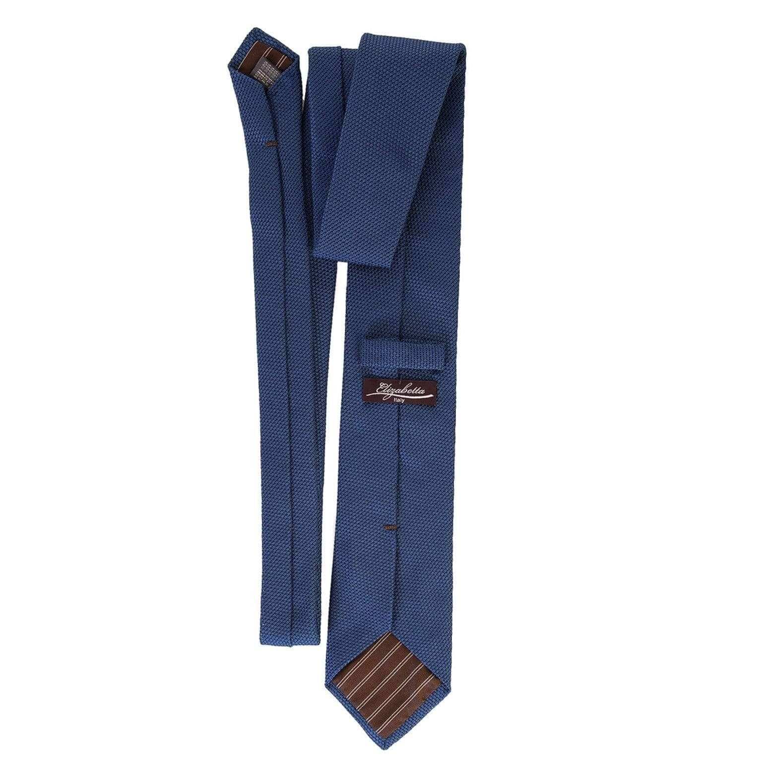 luxury Italian grenadine necktie