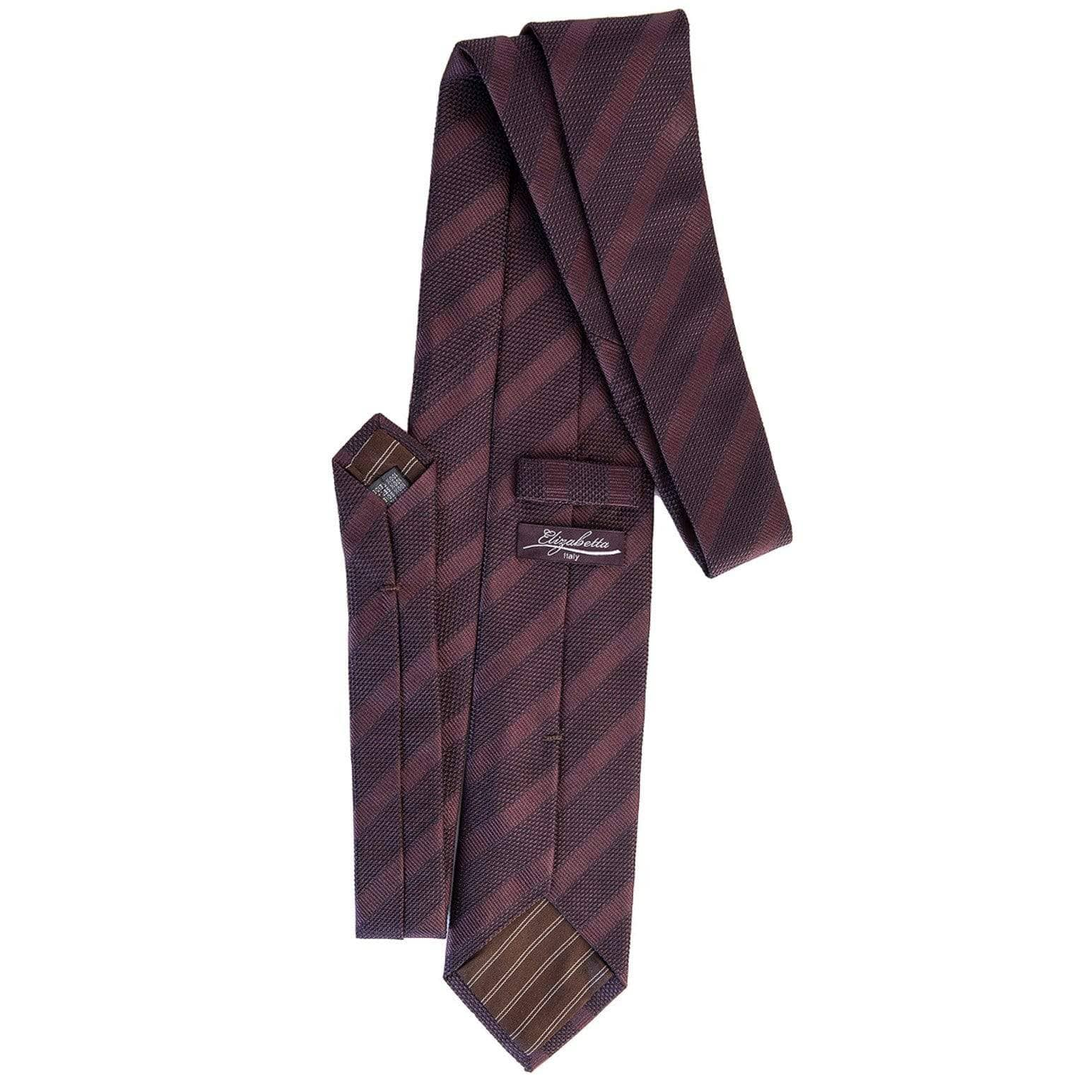 Formal silk wedding tie