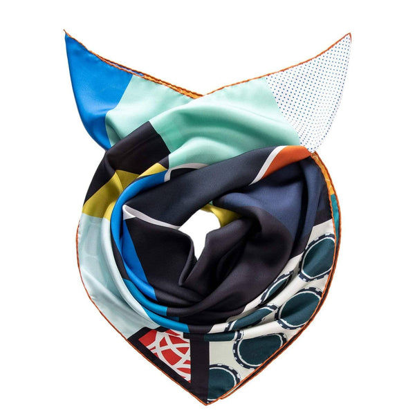 Italian silk fashion scarf