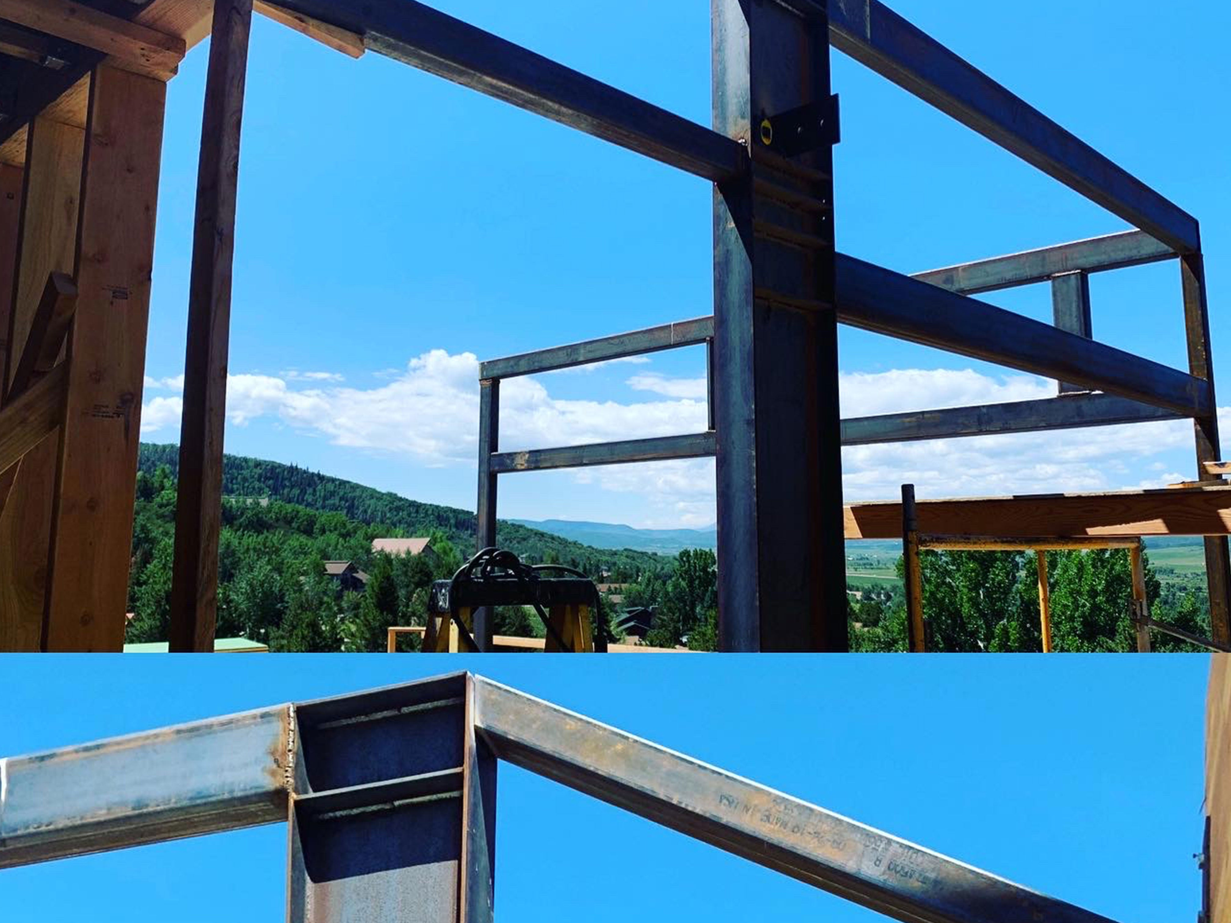 Structural Steel and Stairs