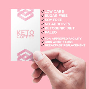 KETO Collagen Coffee Trial (5 Sachets)