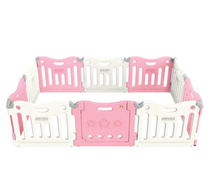 BABYCARE Playpen-Pink