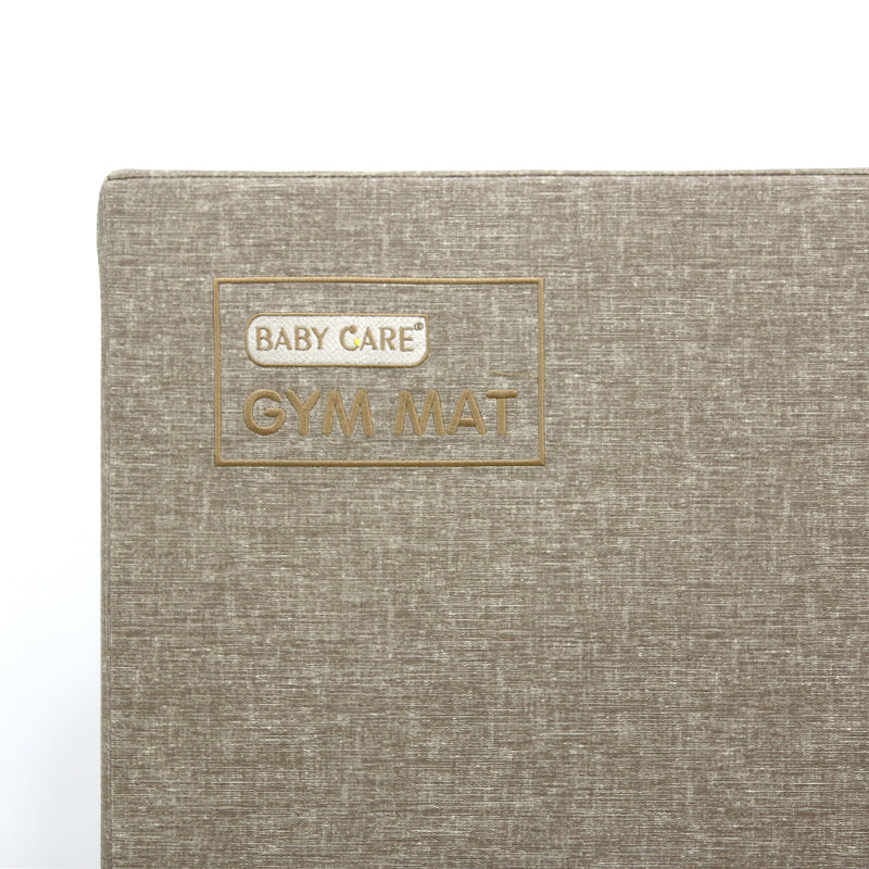 BABYCARE Gym Mat-Wood Brown