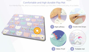 BABYCARE Activity Gym Mat - Cute Cat