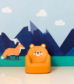 DWINGULER Kids Sofa-Grizzly