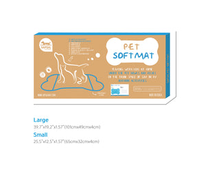 SAPSAL Pet mat-My Friends Blue(Small)
