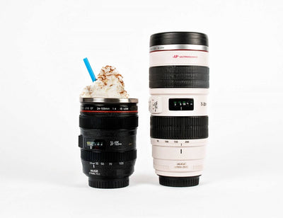 Canon Camera Lens Mug White