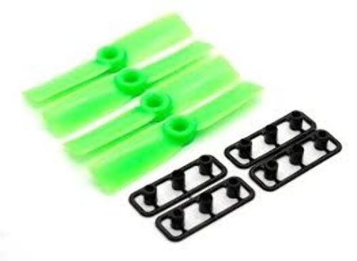 Gemfan ABS Propellers 2 Bladed Bullnose Green 3030