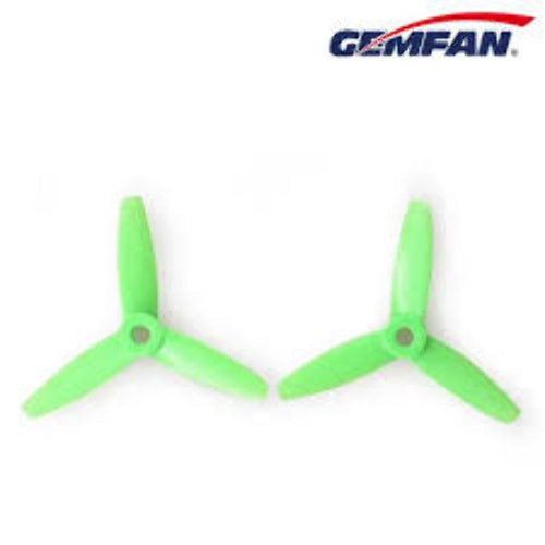 Gemfan PC 3 Blade Propellers Non Bullnose Green 4045
