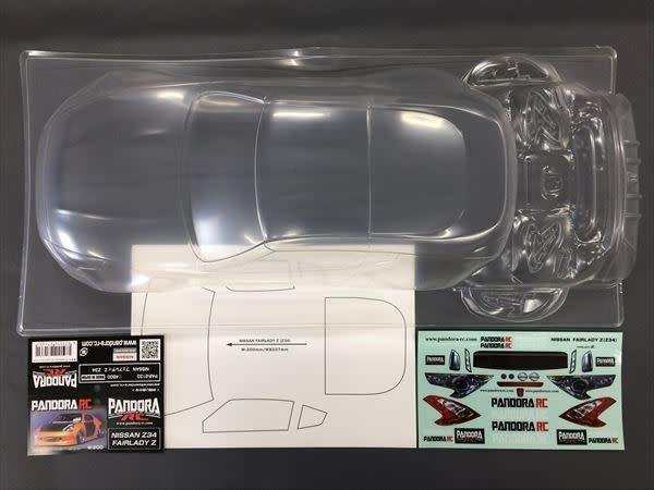 Pandora RC (PAB-2129) NISSAN SKYLINE BNR32 GT-R UNPAINTED Body Only