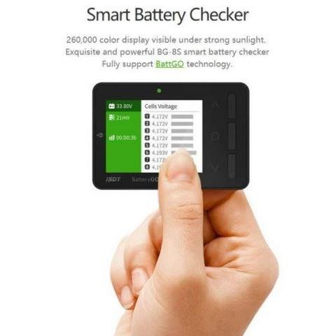 ISDT BG-8S Battery Cell Checker