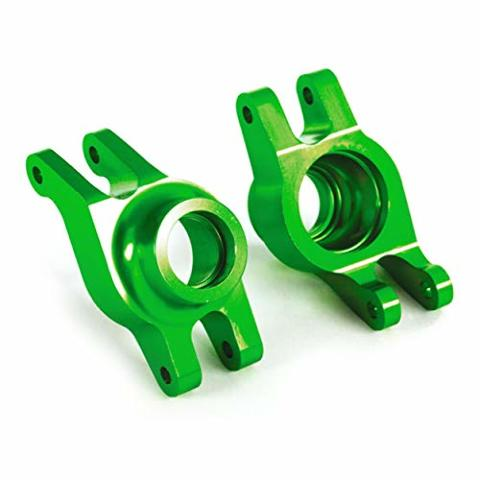Traxxas 8952G Carriers stub axle (green-anodized 6061-T6 aluminum) (rear) (2)