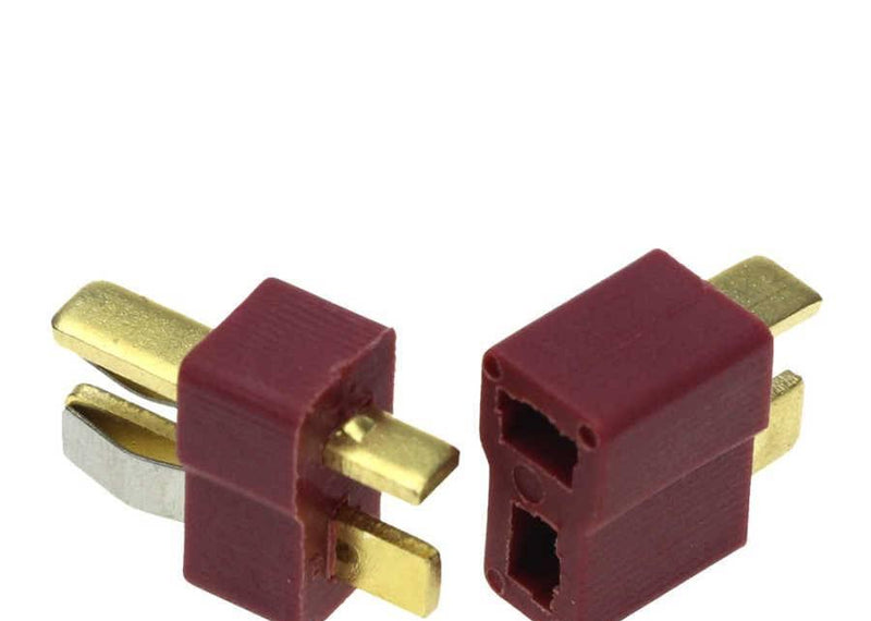 1 Pair T Connector Male and Female Dean Plugs