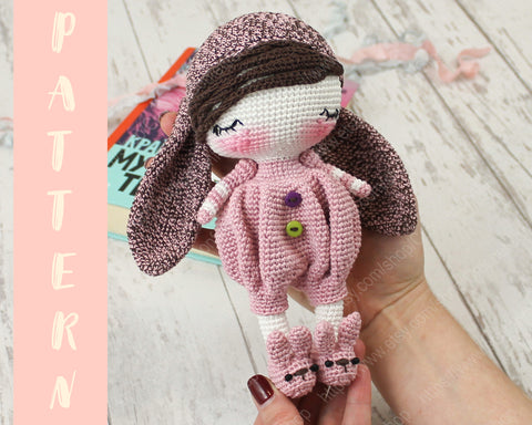 Tutorial Sleepydoll Amigurumi Crochet - YouTube | 384x480