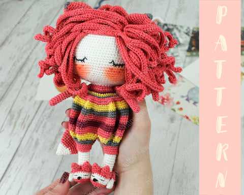 15+ Free Crocheted Doll Patterns • Free Crochet Tutorials | 384x480