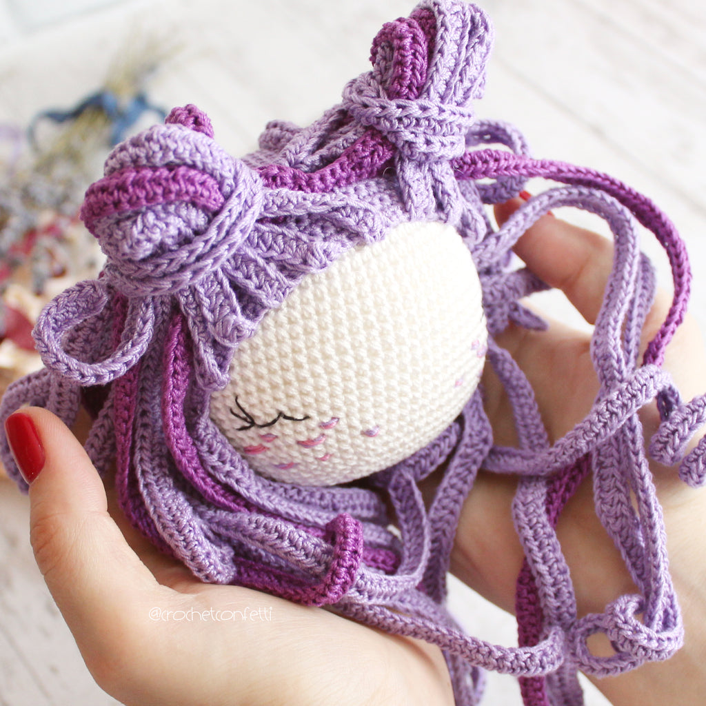 PDF Amigurumi Doll PATTERN, Crochet Little Doll Witch, DIY Doll ... | 1024x1024