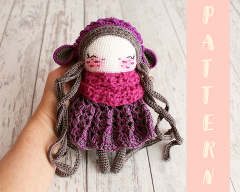 Why you should begin crocheting with easy crochet doll patterns ... | 384x480