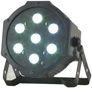 Rave 7x4W RGB LED Par Stage Light