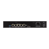Black Luxul Epic 4 ABR-4500 Router Rackmount Back view