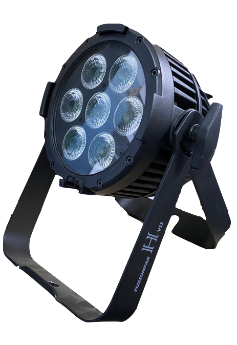 Showtec LED FusionPAR H VII Black