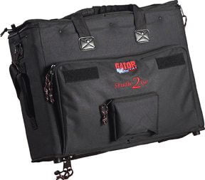 Black Gator Studio-2-Go Recording bag front outside view