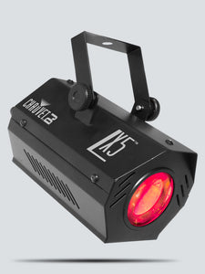 black red light Chauvet DJ LX-5X right view