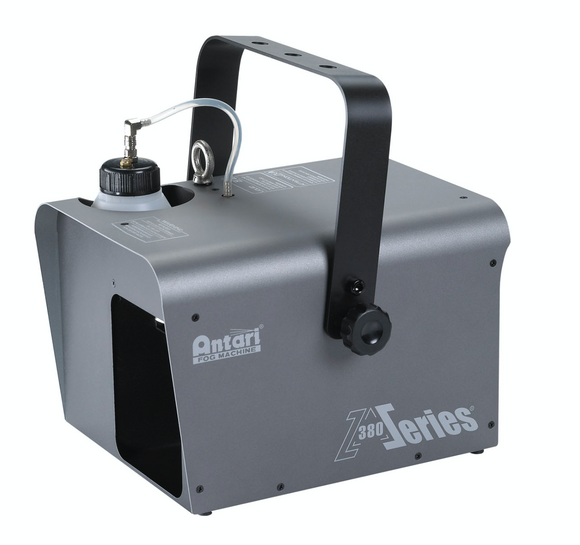 Grey/Black Antari fog machine 380 series Side view