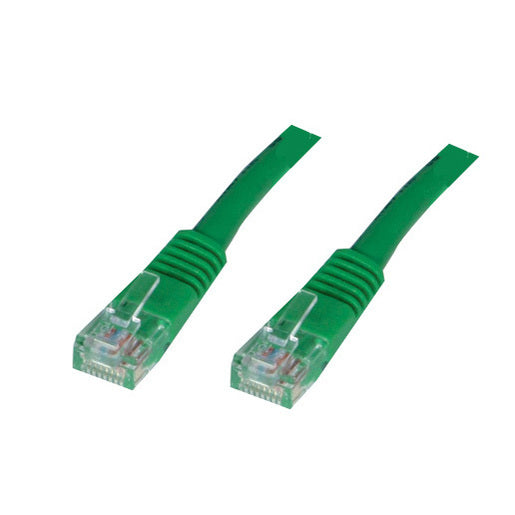 Datatech Cat5E green patch lead