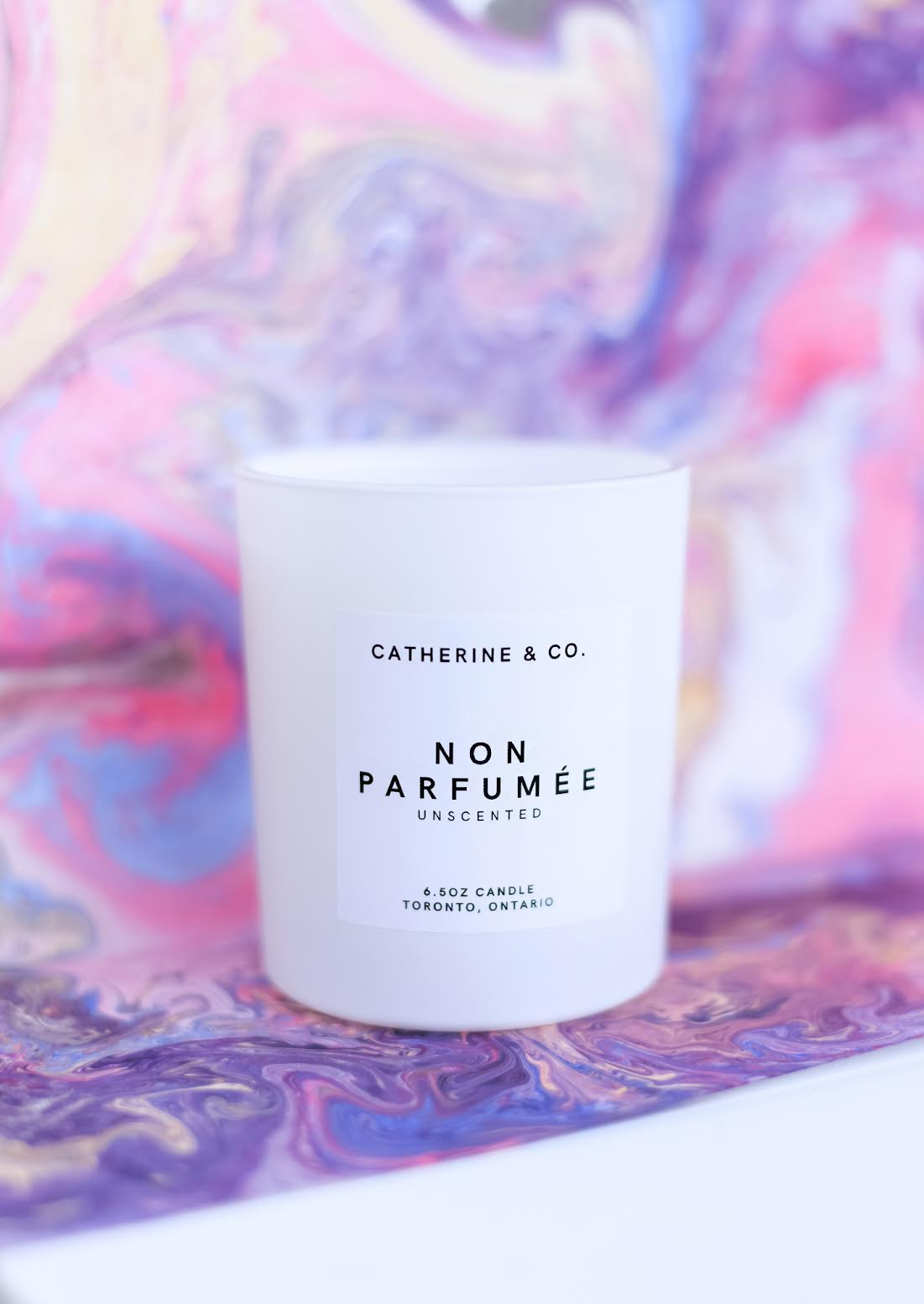 Catherine & Co. Non Parfumée Candle (Unscented)
