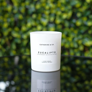 Catherine & Co. Eucalipto Candle (Eucalyptus & Spearmint)