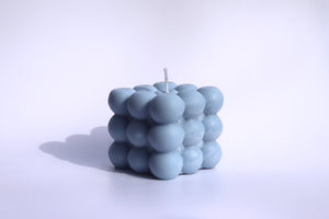 MMANN Bubble Candle (Blue B)