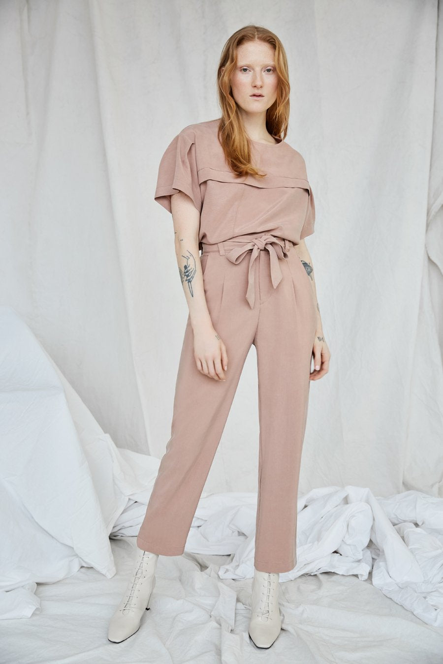 Eve Gravel Lion's Echo Pants (Dusty Pink)